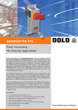 IBS SAFEMASTER STS Power Interlocking
